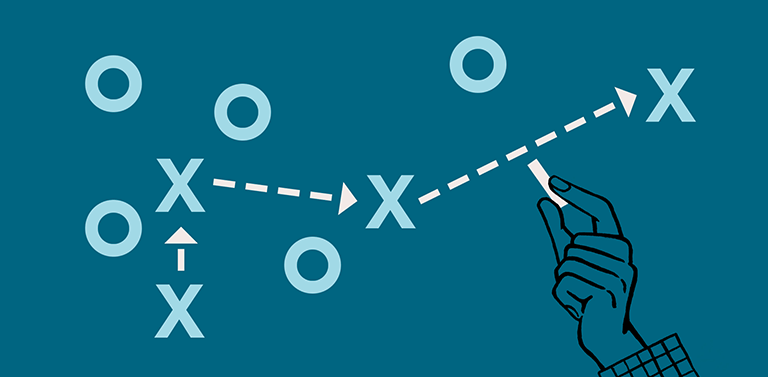 Drawing the line between strategy and tactics